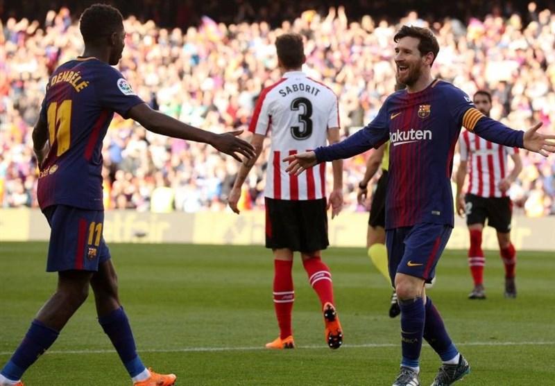 لالیگا| پیروزی بیستوسوم بارسلونا