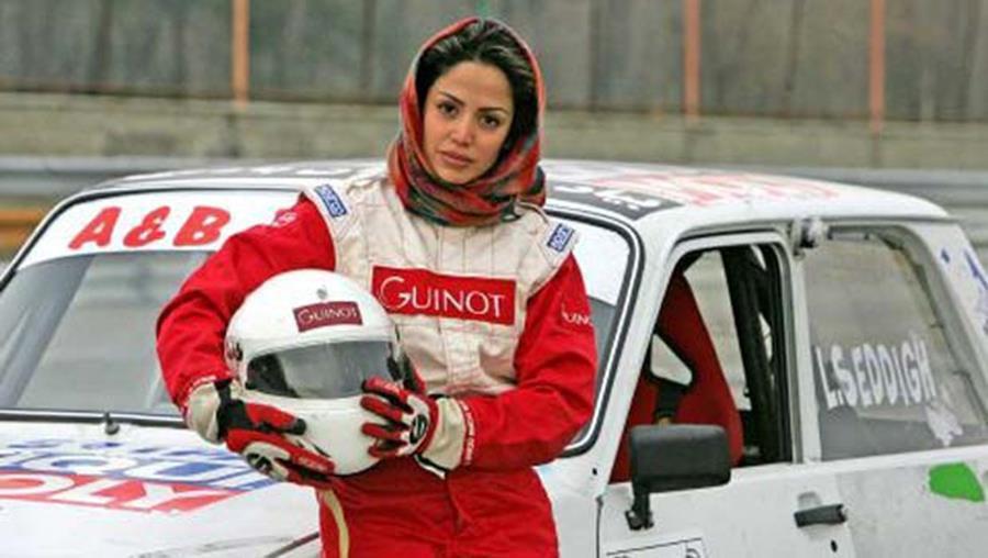 لاله صدیق عضو کمیسیون جهانی اتومبیلرانان کم توان جسمی