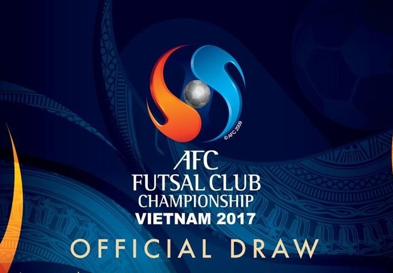 اعلام برنامه قهرمانی فوتسال باشگاهی آسیا