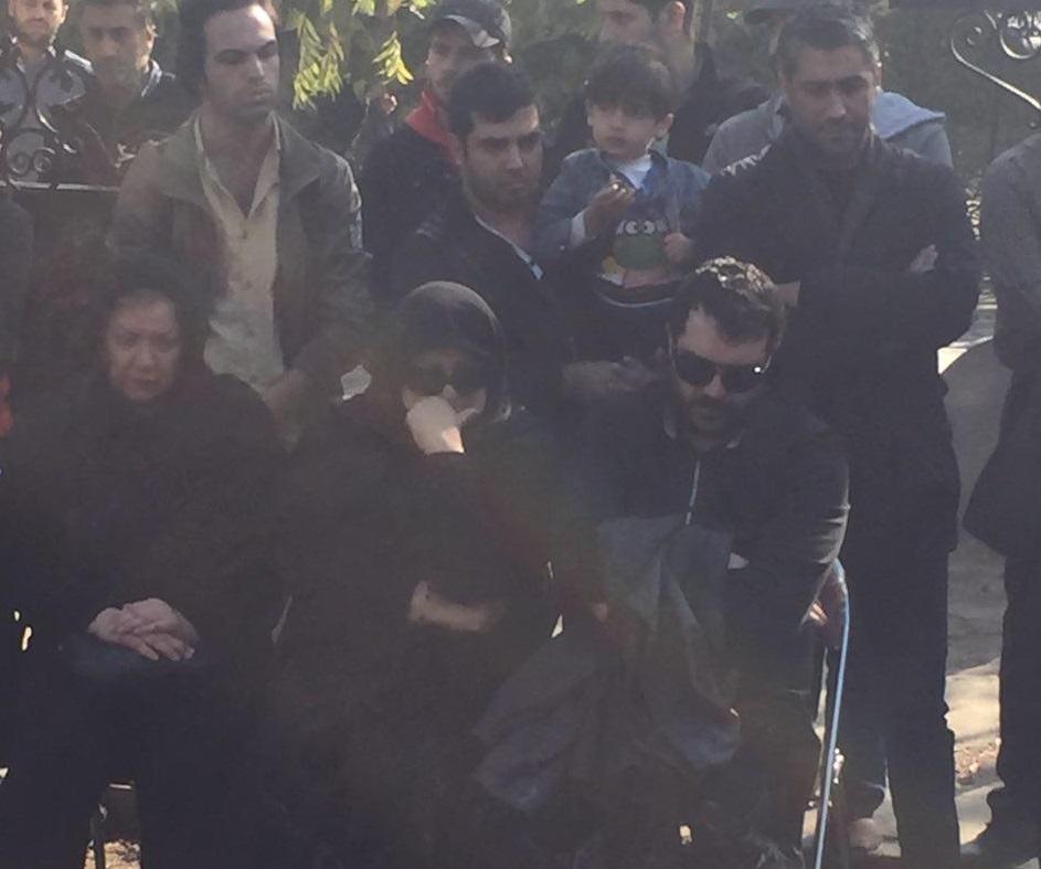 اهالی سینما و ورزش در مراسم شب هفت پورحیدری