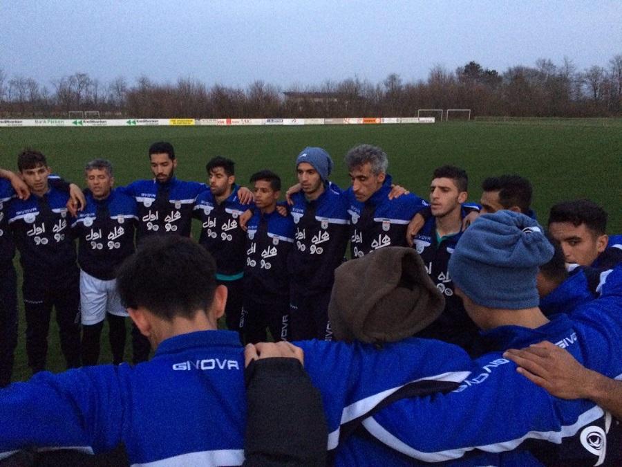 تیم ملی جوانان در کمپ  TONDERدانمارک