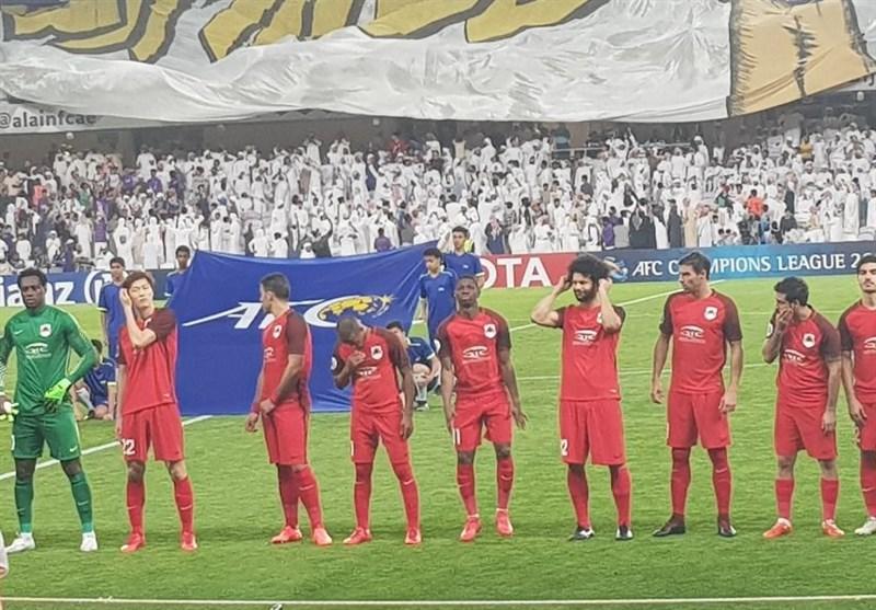 تساوی حریفان اماراتی و قطری استقلال