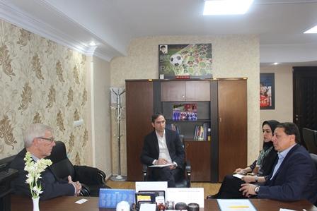 حضور مشاور برنامه ریزی فیفا در ایران