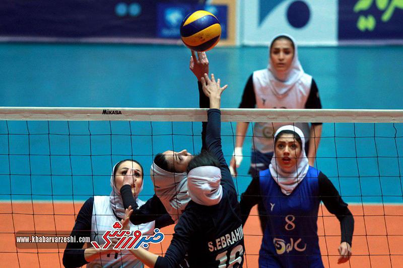 گزارش تصویری|  سالوت تهران-شهرداری تبریز (لیگ برتر والیبال بانوان)