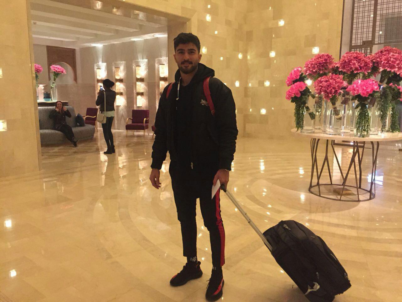 عابدزاده به تونس رسید