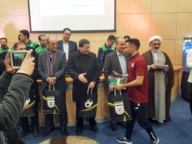 گزارش تصویری| مراسم بدرقه تیم ملی فوتسال