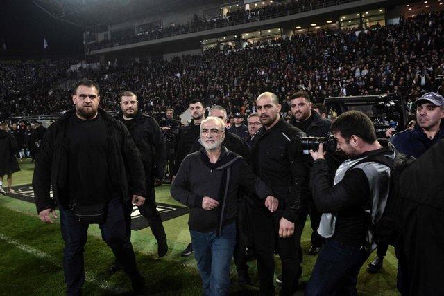سوپر لیگ فوتبال یونان تعلیق شد