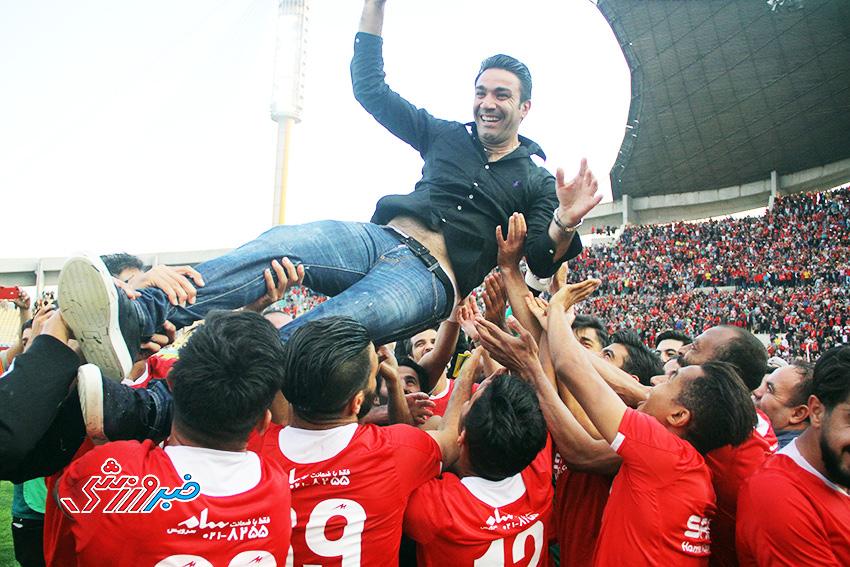 گزارش تصویری| جشن لیگ برتری شدن نساجی مازندران