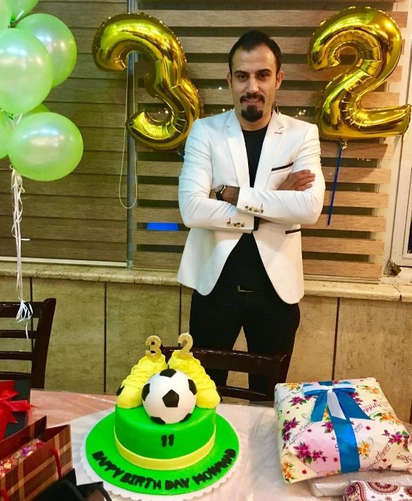 عکس  جشن تولد مهاجم سابق تیم ملی