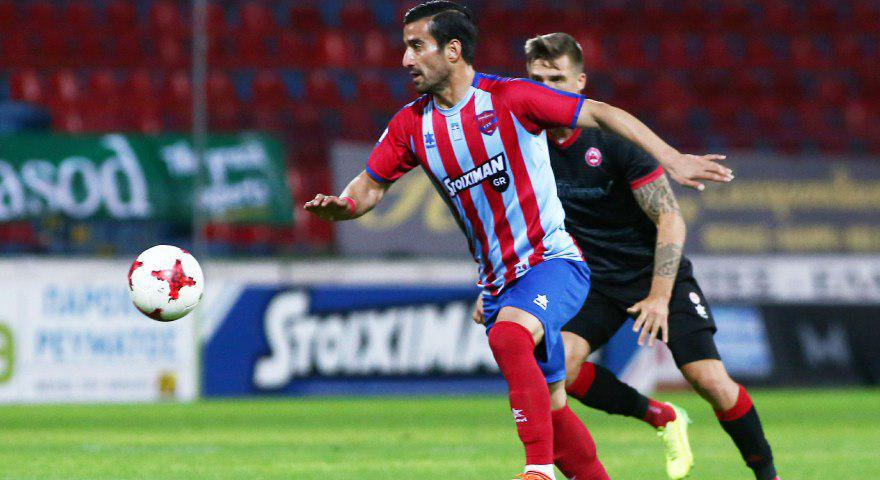 پیروزی پانیونیوس با بازی حاجصفی