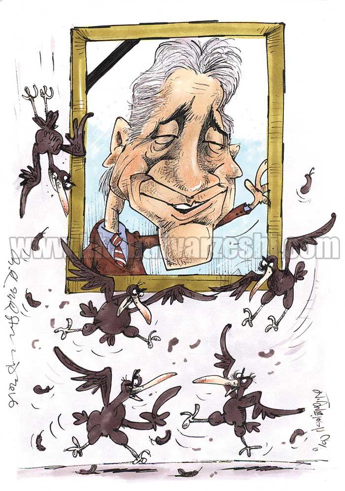 کاریکاتور| تولد ۶۷ سالگی ناصر حجازی بدون توضیح اضافی!