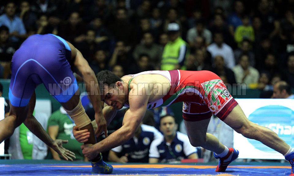 گزارش تصویری  پیروزی مقتدرانه ایران مقابل هند