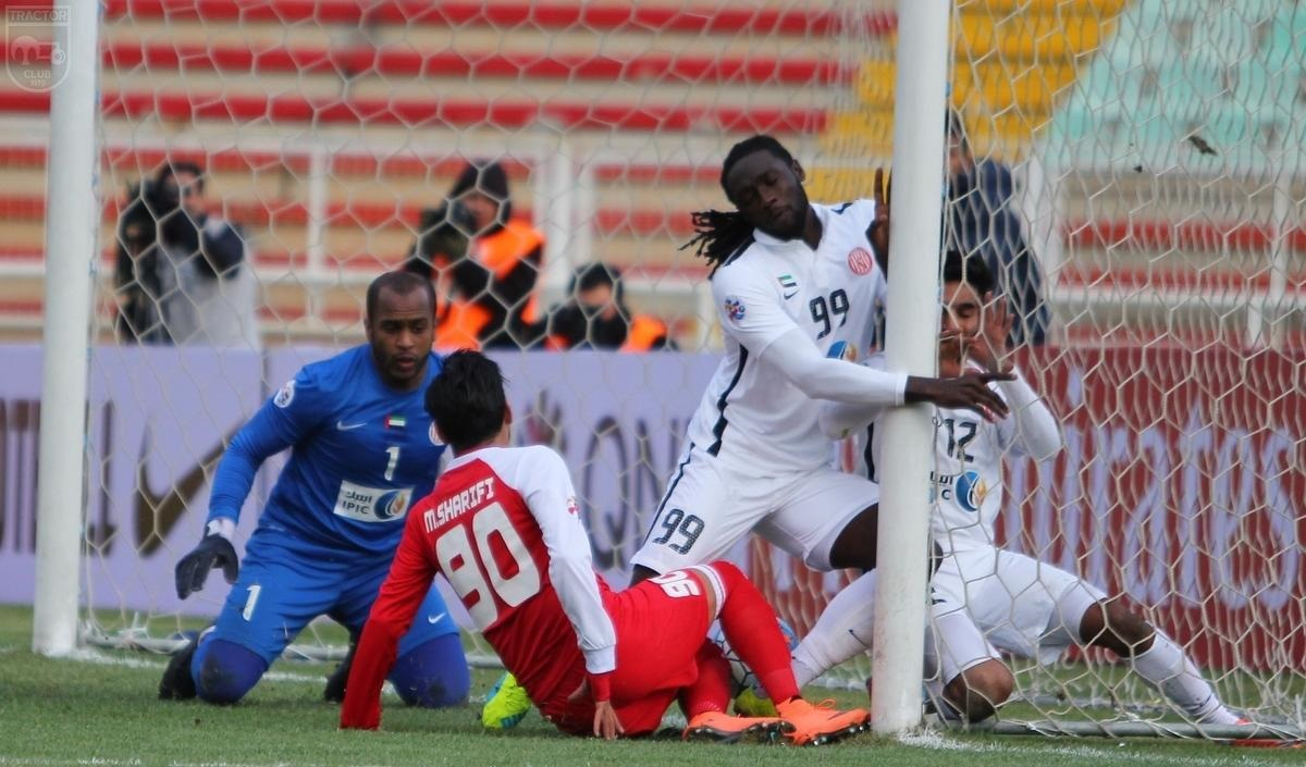 لیگ قهرمانان آسیا  توقف تراکتور  مقابل الجزیره
