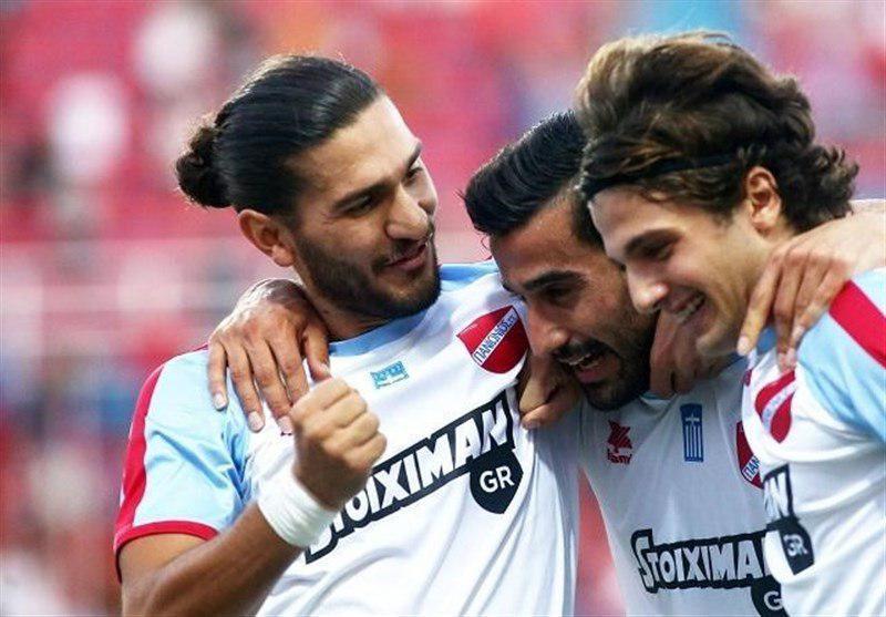 گل حاجصفی در رده پنجم زیباترین گل سوپر لیگ یونان